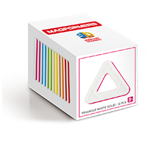 Купить Magformers Triangle White solid set 12