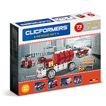 Купить Clicformers Fire Rescue 73 pc (7 in 1)