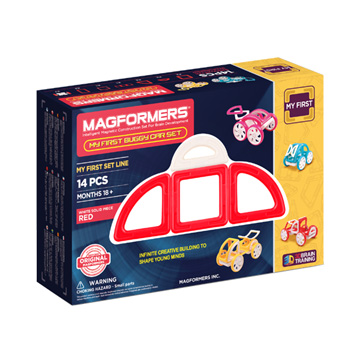 Купить Magformers My First Buggy Car - Red