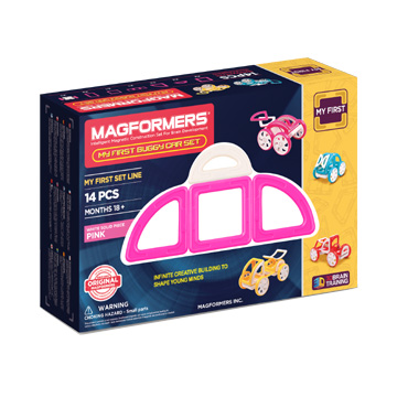 Купить Magformers My First Buggy Car - Pink