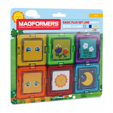 Купить Magformers Card Plus Face Set 12P
