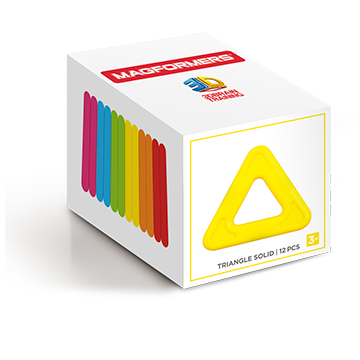Купить Magformers Triangle Solid set 12
