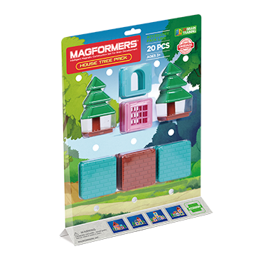 Купить Magformers House Tree Pack 20P