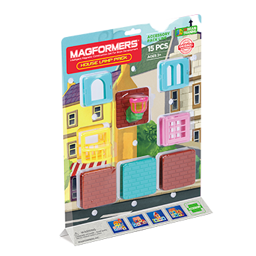 Купить Magformers House Lamp Pack 15P
