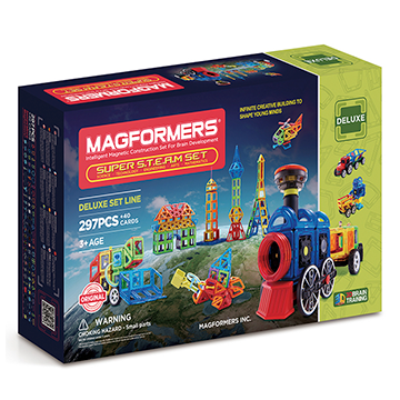 Купить Magformers Super Steam Set 297