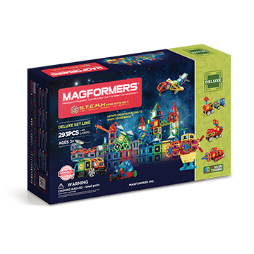Купить Magformers Steam Master Set 293