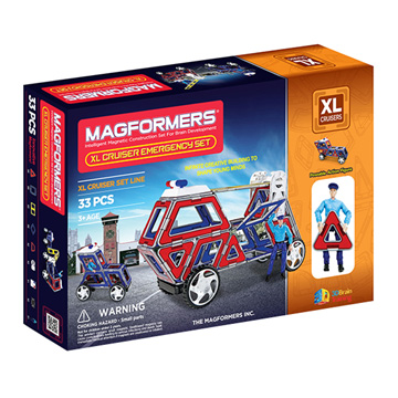 Купить Magformers XL Cruiser Emergency set 33