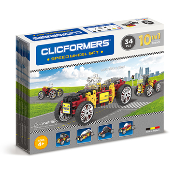 Купить Clicformers Speed Wheel 34 pc (10 in 1)