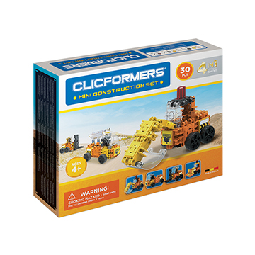 Купить Clicformers MINI Construction set (4 in 1)
