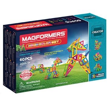 Купить Magformers Neon Colour set 60