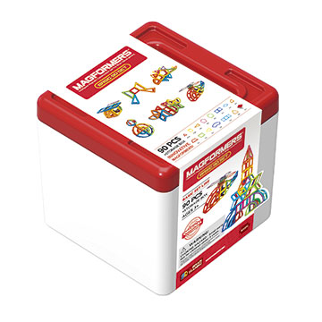 Купить Magformers Basic 90 Set + Storage Box