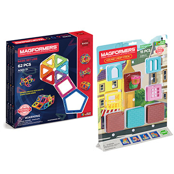 Купить Magformers 62 and House Lamp Bundle
