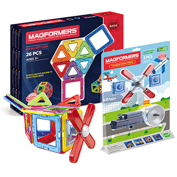 Купить Magformers 26pc set + Transform