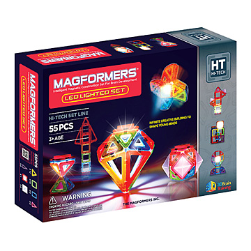 Купить Magformers Lighted Set 55
