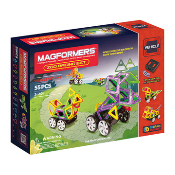 Купить Magformers Zoo Racing Set 55