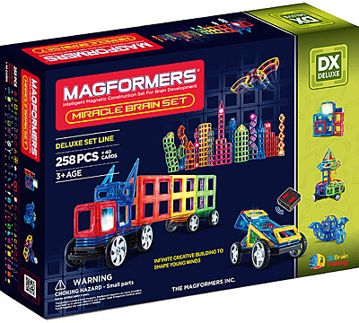 Купить Magformers Miracle Brain Set 258