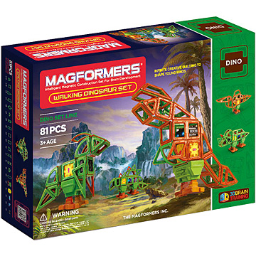 Купить Magformers Walking Dinosaur Set 81