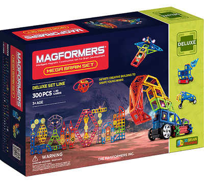 Купить Magformers Mega Brain Set 300
