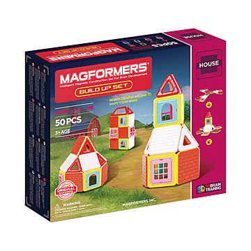 Купить Magformers Build Up Set 50