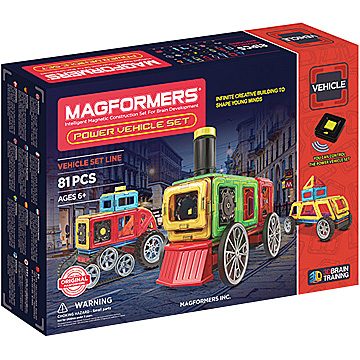 Купить Magformers Power Vehicle Set 86