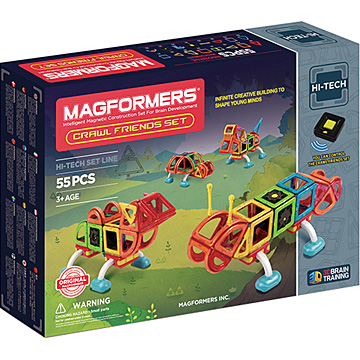 Купить Magformers Crawl Friends Set 55
