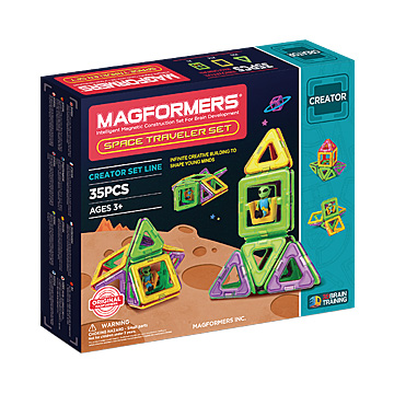 Купить Magformers Space Traveler Set 35