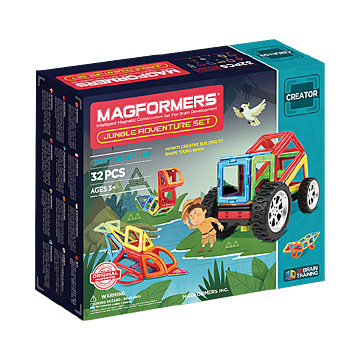 Купить Magformers Jungle Adventure Set 32