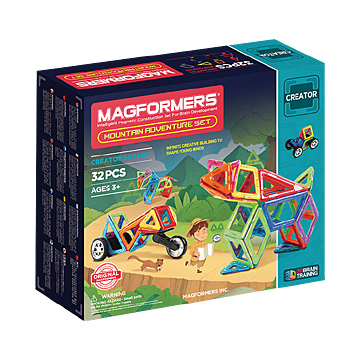 Купить Magformers Mountain Adventure Set 32