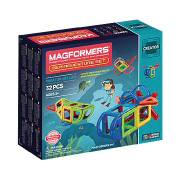 Купить Magformers Sea Adventure Set 32
