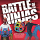 LONDON TOY FAIR: BATTLE OF THE NINJAS