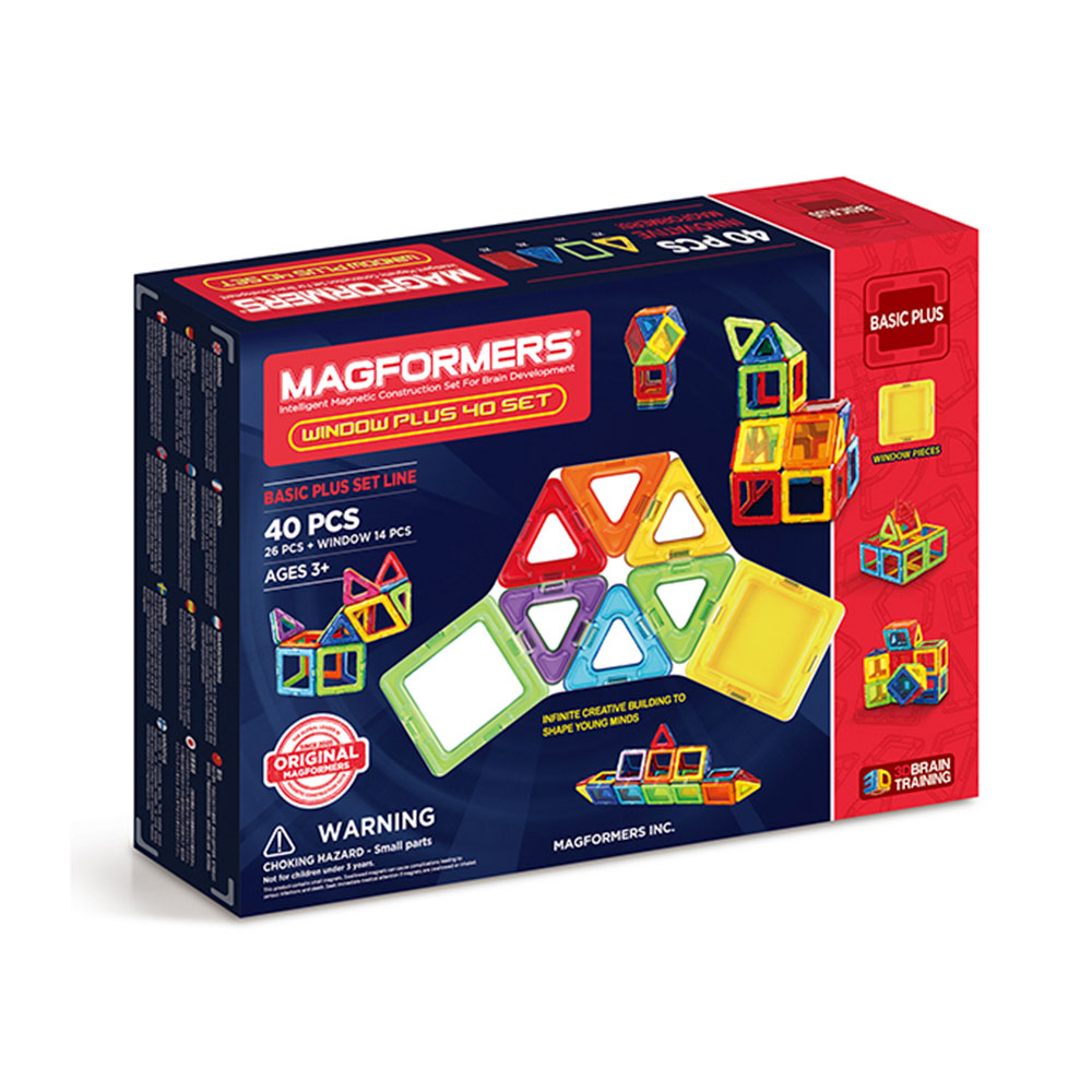 Magformers window plus 40 buy online magnetic for Buy new construction windows online