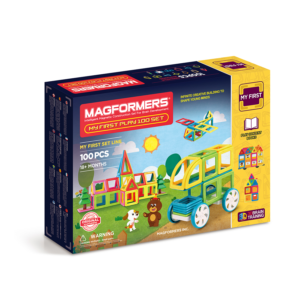 magformers my first play 100 buy online magnetic