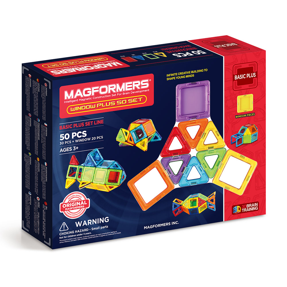 Magformers window plus 50 buy online magnetic for Buy new construction windows online