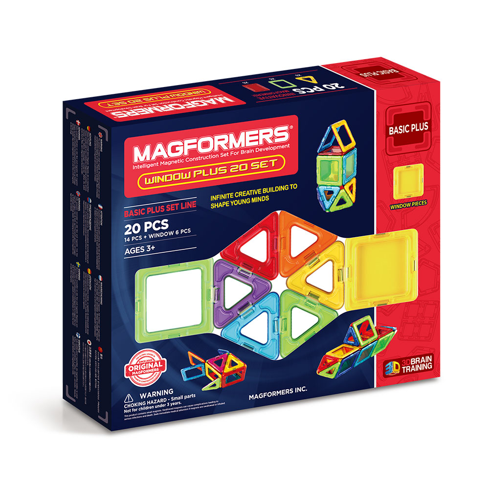 Magformers window plus 20 buy online magnetic for Buy new construction windows online