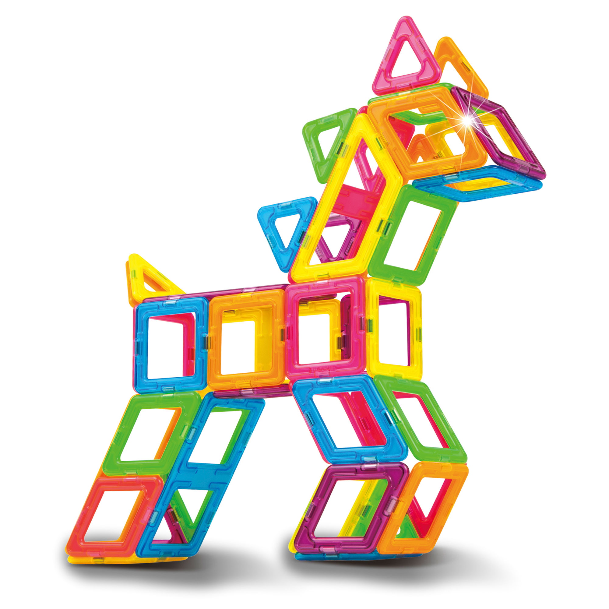 Magformers neon color set buy online magnetic for Construction suite online