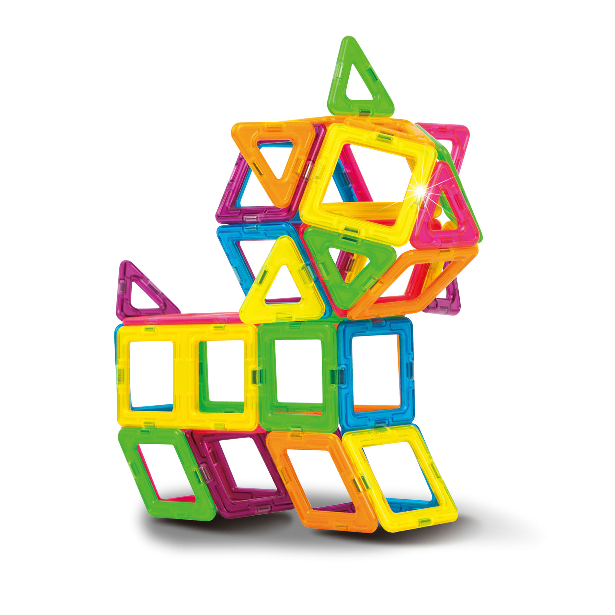 Magformers neon colour set 60 buy online magnetic for Buy new construction windows online